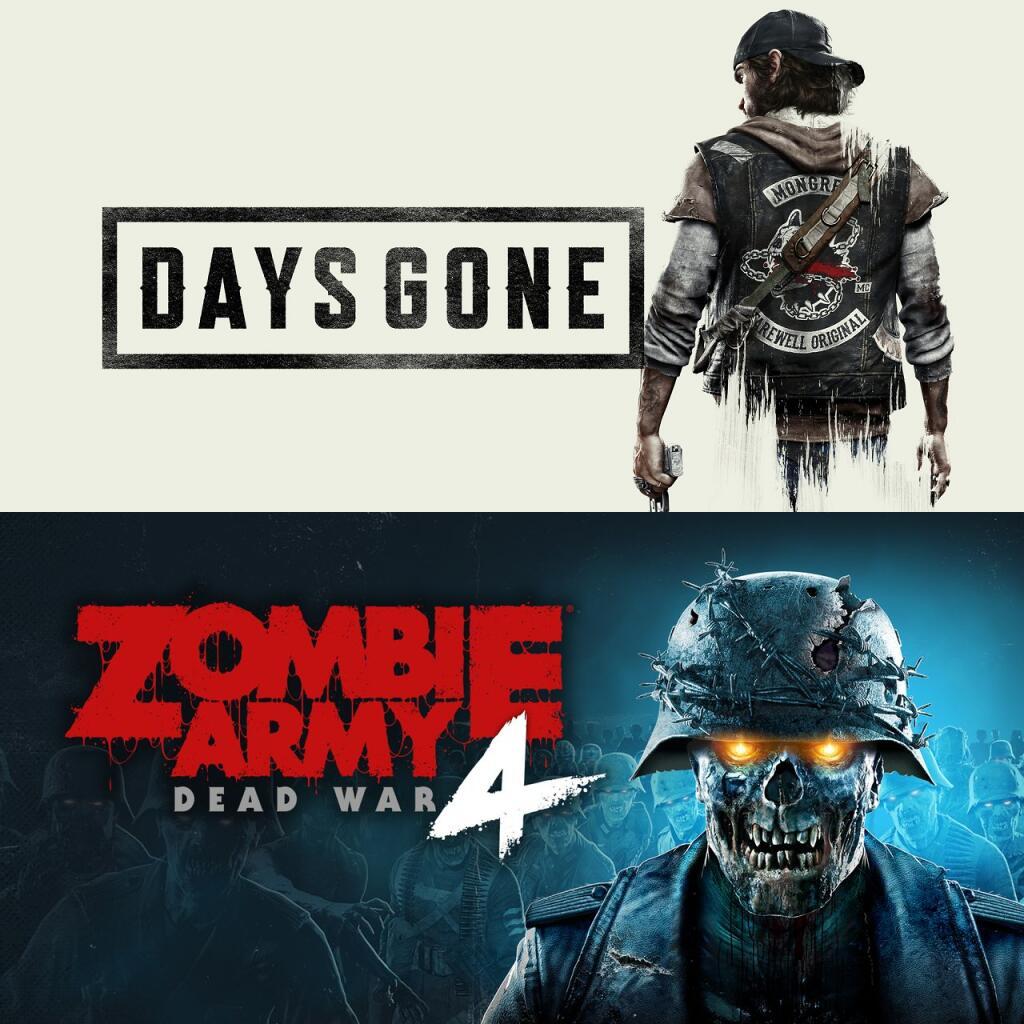 Playstation Plus April: Days Gone, Zombie Army 4: Dead War