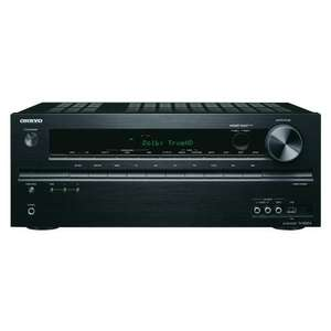 Onkyo TX-NR414 5.1 Netzwerk AV-Receiver (HD-Audio, 3D Ready, RDS, USB 2.0, Apple iPhone/iPod, 130 W/Kanal) schwarz