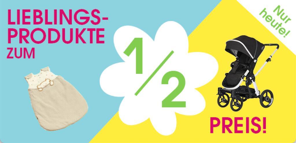 Babymarkt ½-Preise Aktion z.B. cbx Kombikinderwagen Leotie Lux Leather Comfy Grey für 199,95 statt 299€ uvm.