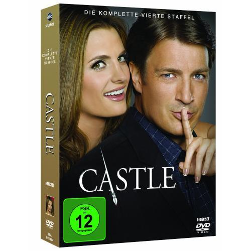 Castle Staffel 4 für 24,97 €