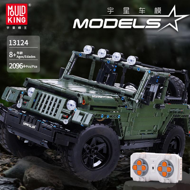 Mould King 13124 MOC Technic Series RC | Klemmbausteine