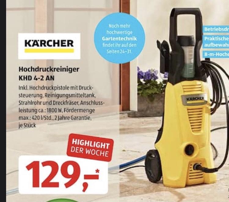 [Aldi Süd] Kärcher Hochdruckreiniger KHD 4-2 AN