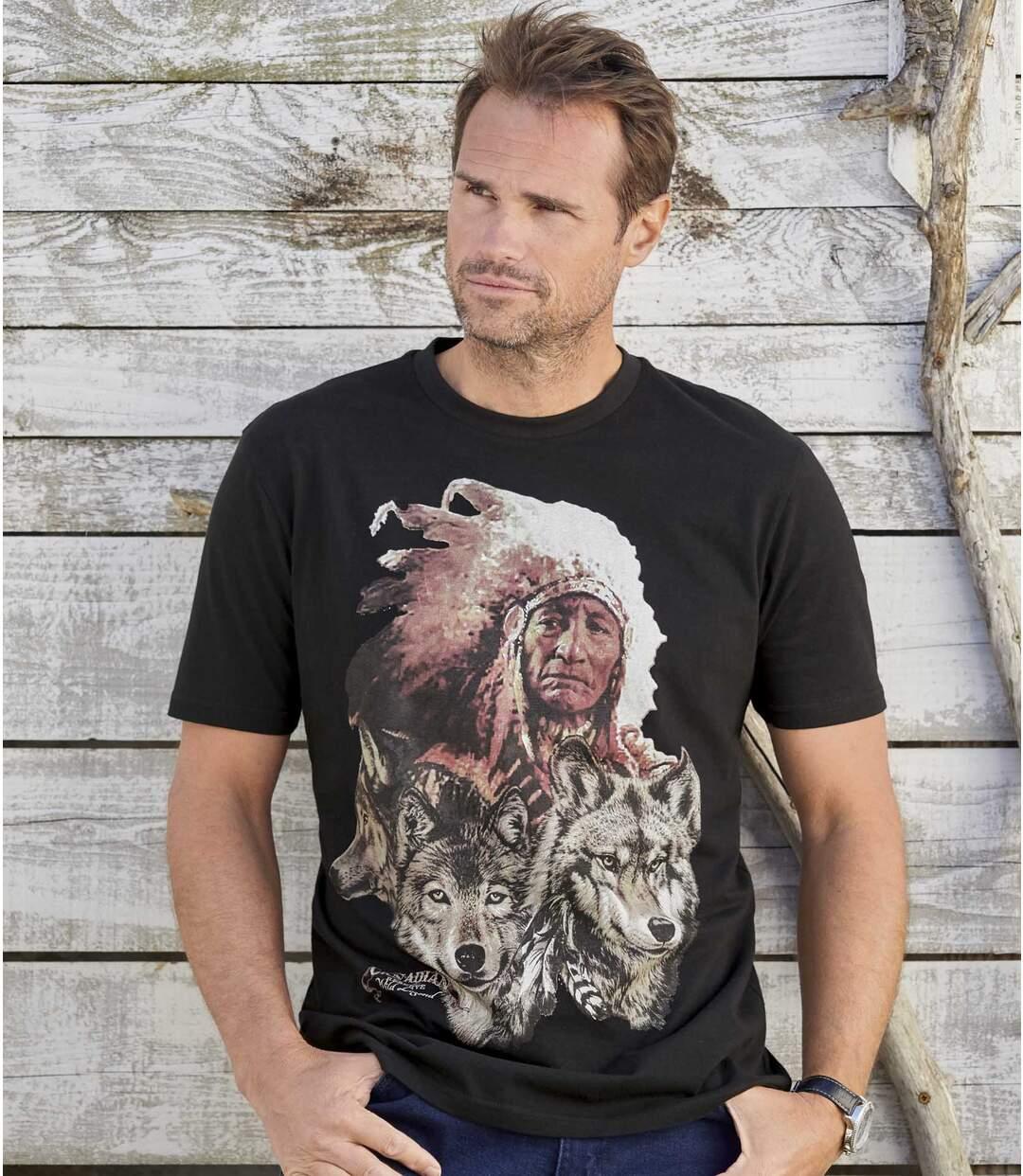 Atlas for Men - 15% auf den T-Shirt-Sale, zB.: Canadian Legends mit Motivdruck