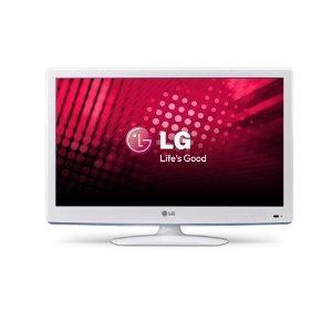 LG 32LS359S für 288€ - weißer Fernseher mit Triple-Tuner @Amazon.de