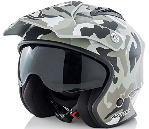 Acerbis Aria Jet Helm camouflage Größe S