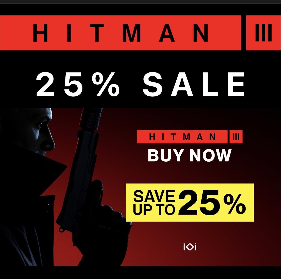[DIGITAL] HITMAN 3 - Deluxe Edition