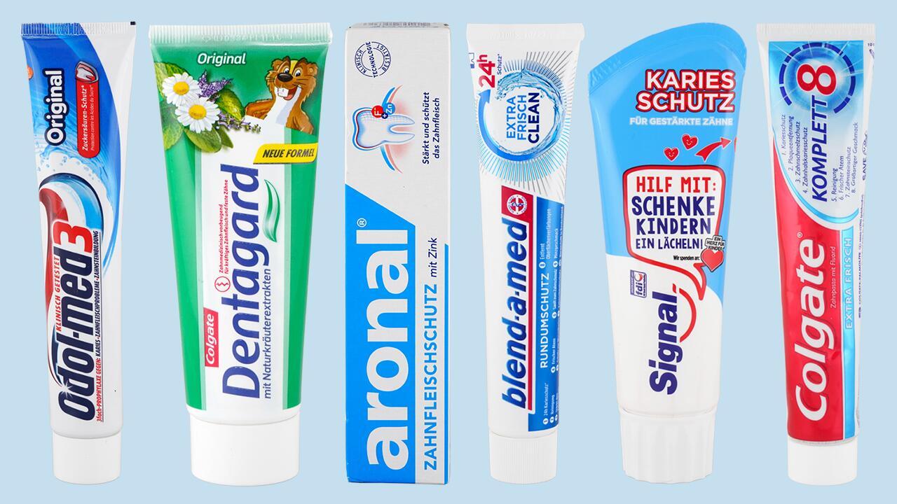 Öko-Test Zahnpasta/Zahncremes (gratis/kostenlos)