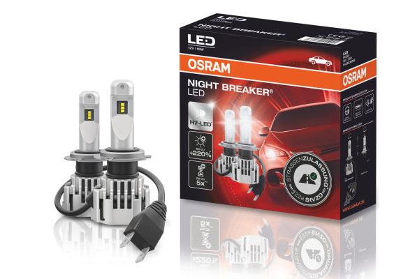 Osram H7 Night Breaker LED zum Bestpreis [15 % Direktabzug im Warenkorb]