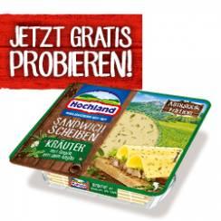 [GzG] Hochland Sandwich Scheiben Kräuter Almglück Edition Gratis Testen [Coupies]