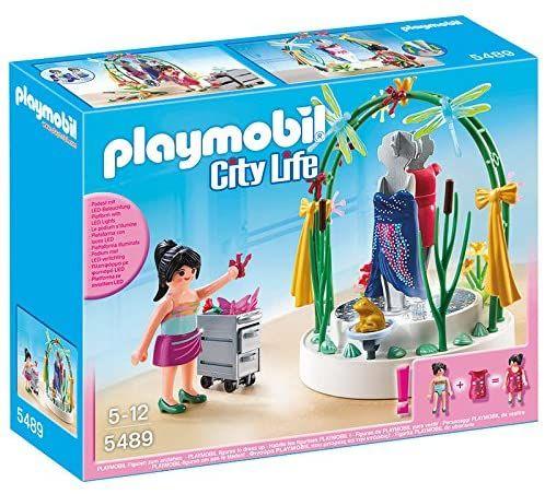 PLAYMOBIL 5489 Dekorateurin mit LED-Podest Prime