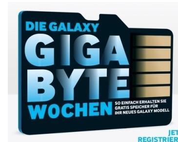 Gratis Micro SD Karte Samsung bis  64GB !!!
