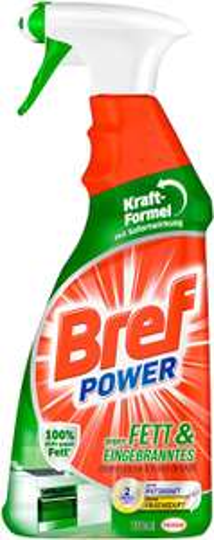 """[Prime Sparabo] 4 x Bref Power, 750ml z.B. 2x """"Kalk und Schmutz"""" + 1x """"Fett und Eingebranntes"""" + 1x """"Bakterien und Schimmel"""" (1,32€/Flasche)"""