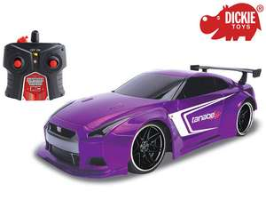 Dickie Toys Nissan GT-R (29 cm, Maßstab: 1:16, Eingebaute Turbofunktion, 2-Kanal-Fernbedienung, USB-Ladefunktion) [iBOOD]