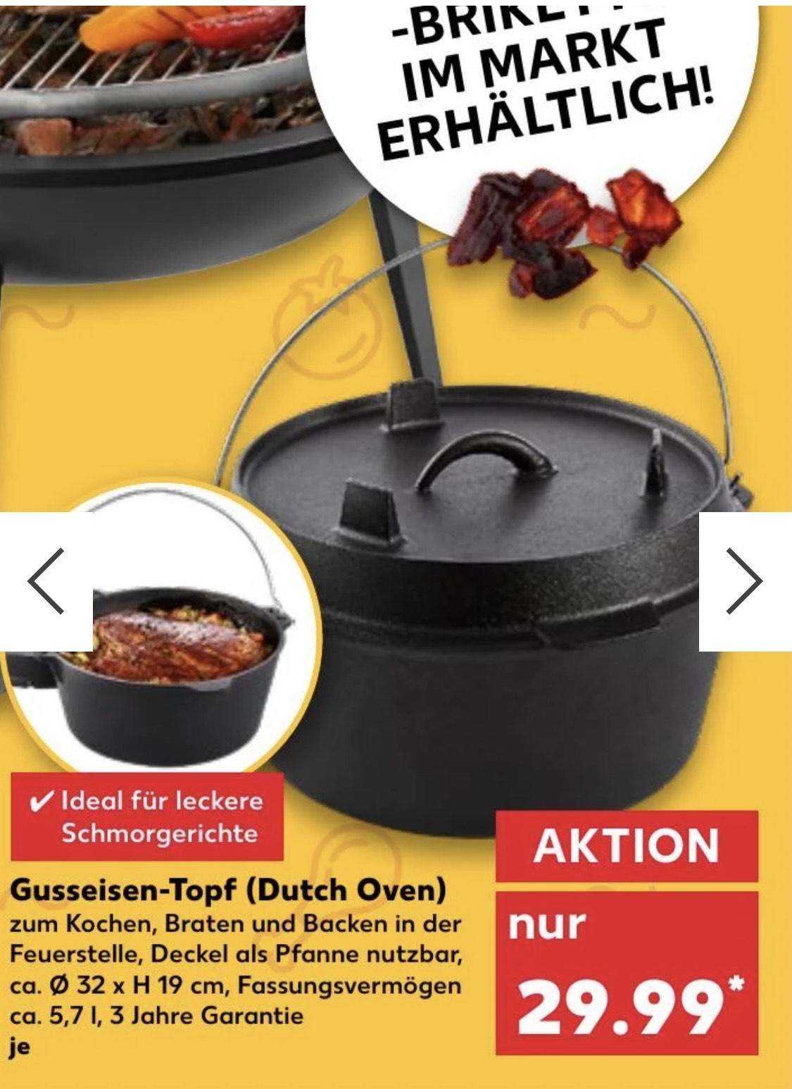 Dutch Oven bei Kaufland
