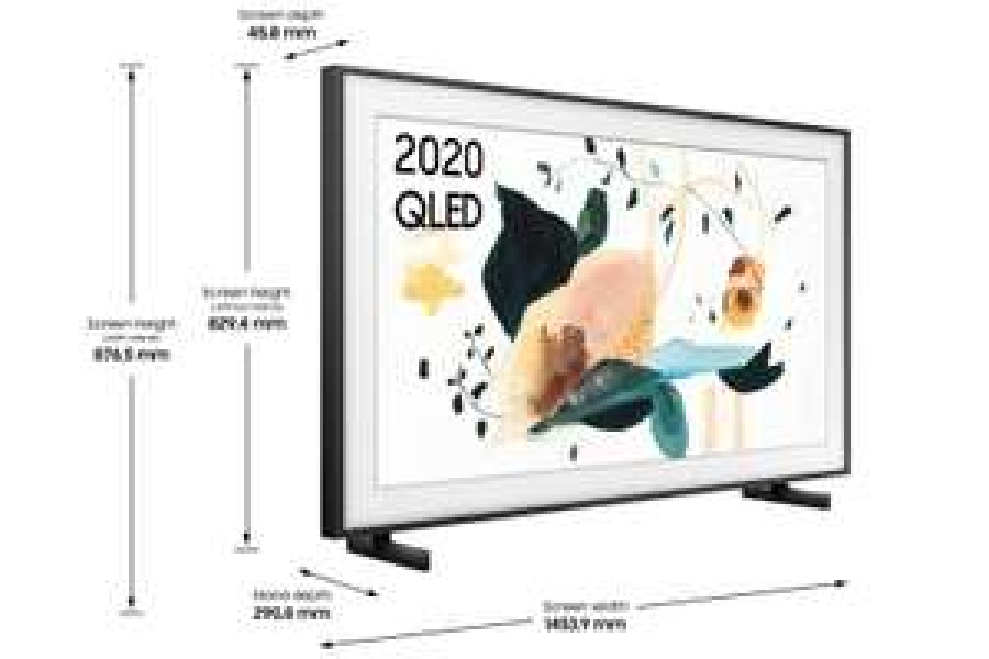 Samsung The Frame (2020) 65 Zoll QE65LS03T - 100 Hz, HDMI 2.1 - 55 Zoll für 1.020 €