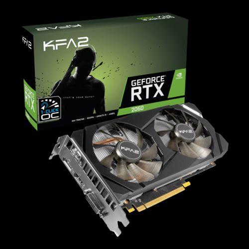 KFA2 GeForce RTX™ 2060 1-Click OC 6GB
