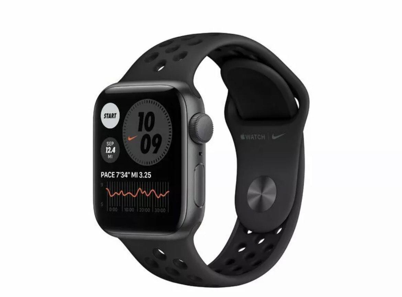 Apple Watch 6 Nike 40mm space-grau GPS von Gravis