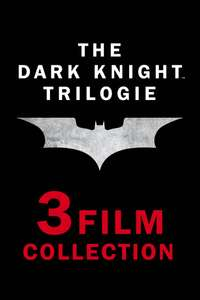 (iTunes) Dark Knight Trilogie / Christopher Nolan Collection * Zu Bestpreisen verfügbar * 4k HDR Stream (KAUF)