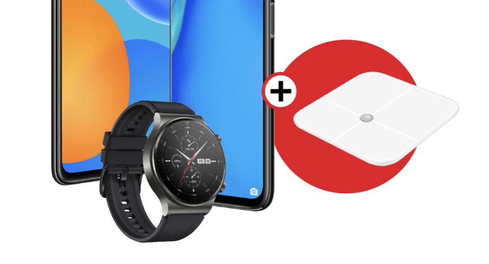 Huawei watch GT 2 Pro inkl Körperwaage