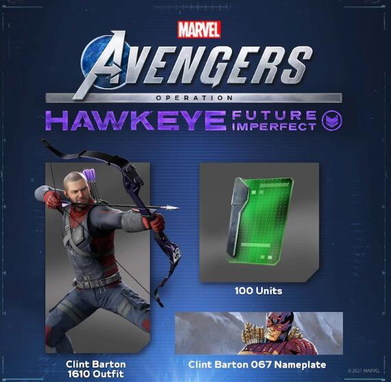 [PlayStation Store] Marvel's Avengers PlayStation Plus-Belohnung (Hawkeye)