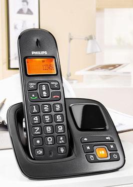 [offline] Kaufland: Philips CD1961B/DE Schnurlostelefon (4,1 cm (1,6 Zoll) Display, ECO+ Mode, Freisprechfunktion, Anrufbeantworter) schwarz