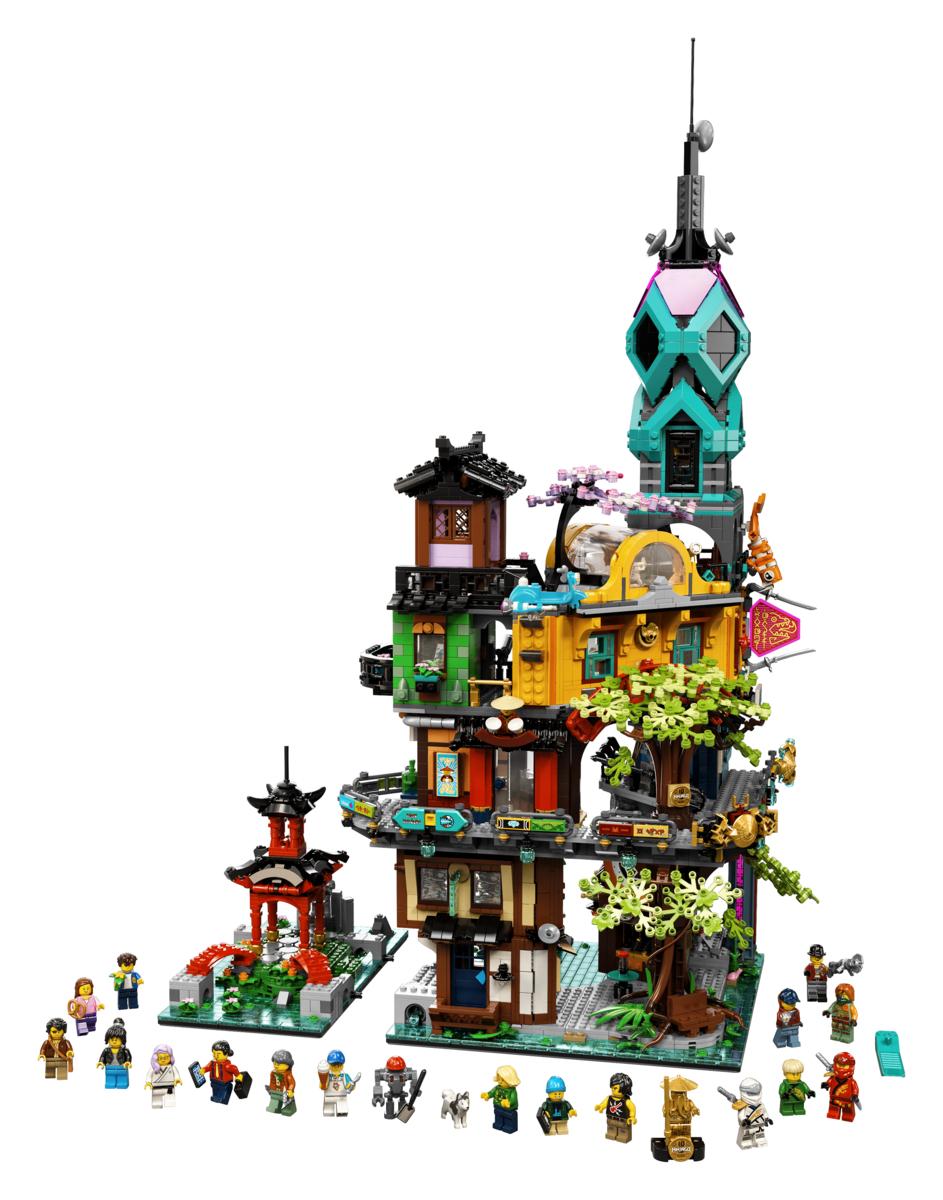Lego 71741 Die Gärten von Ninjago im Legoland Shop