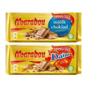 [Aldi-Nord ab 09.04] Marabou Schokolade verschiedene Sorten King-Size