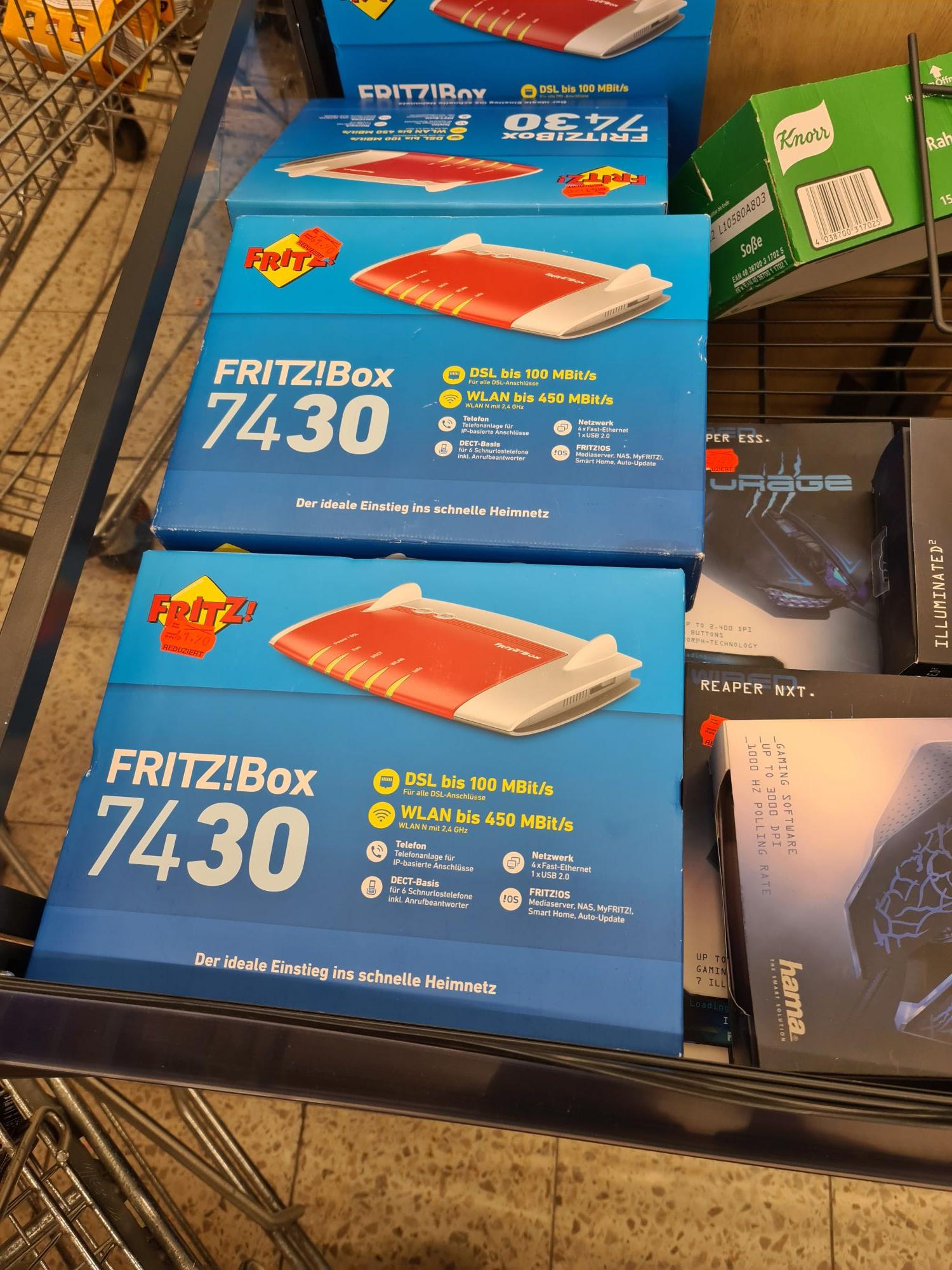 FritzBox 7430 Lokal Aachen Kaufland Breslauerstr. (Ehemals Real)