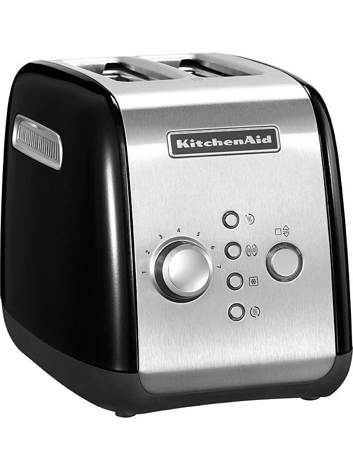 """Toaster """"5KMT221"""" in Schwarz - (B)28,6 - (H)21 x (T)18,4 cm"""