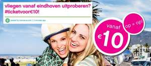 Flug für 10€ ab Eindhoven nach Berlin, Nizza, Bologna, Neapel und Kopenhagen