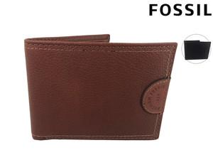 Fossil Herren Leder-Portemonnaie (Rindsleder, 9 Steckplätze für Karten, In schwarz und braun verfügbar) [iBOOD]
