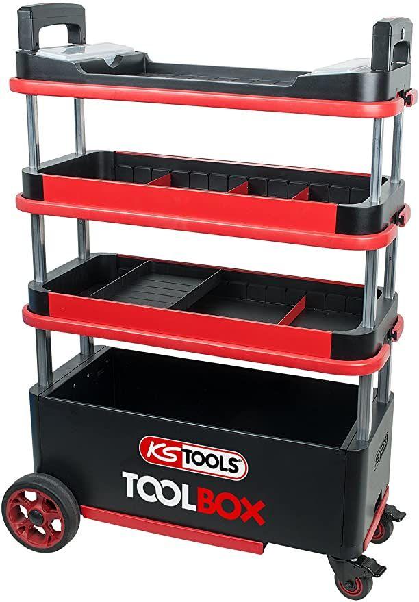KS Tools Werkstattwagen Werkzeug Toolbox @amazon