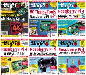 MagPi PDF-Jahresarchiv 2020 (Chip Osteraktion) Raspberry Pi