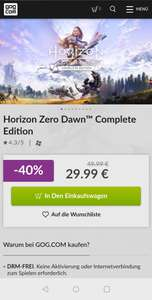 Horizon Zero Dawn complete PC Version