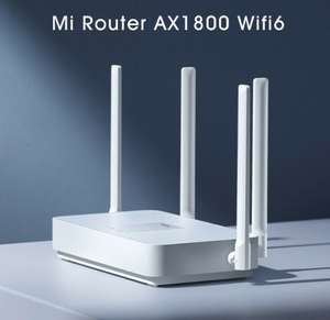 [Ebay] Xiaomi Mi Router AX1800 WiFi 6 1800 Mbps 5-Core 256MB AX5 4 Antennen 2,4G/5G Dual