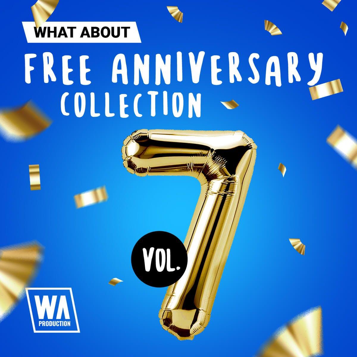 10GB Samples zum Jubiläum von W.A. Production