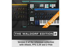 [VST AU AAX] Waldorf Edition 2 LE Synthesizer & Filtereffekt Plugins - Limited Time