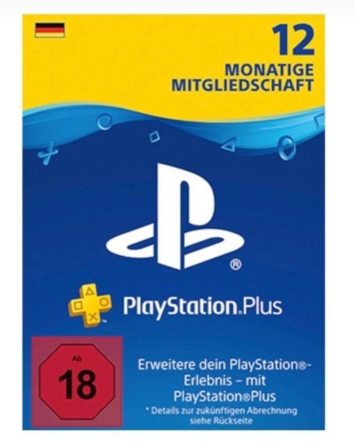 12 Monate PlayStation Plus Mitgliedschaft (Für deutsche Kunden auch mit bestehendem PS+ Abo verwendbar)