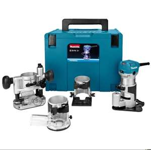 Makita Kanten/Oberfräse RT0700C im MacPak Set RT0700CX3J