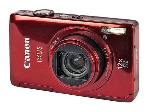 Canon IXUS 1100 HS Digitalkamera (12 Megapixel, 12-fach opt. Zoom, 8,1 cm (3,2 Zoll) Display, bildstabilisiert) rot bei Amazon UK