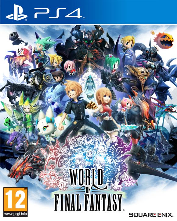 World of Final Fantasy(PS4) [Coolshop]