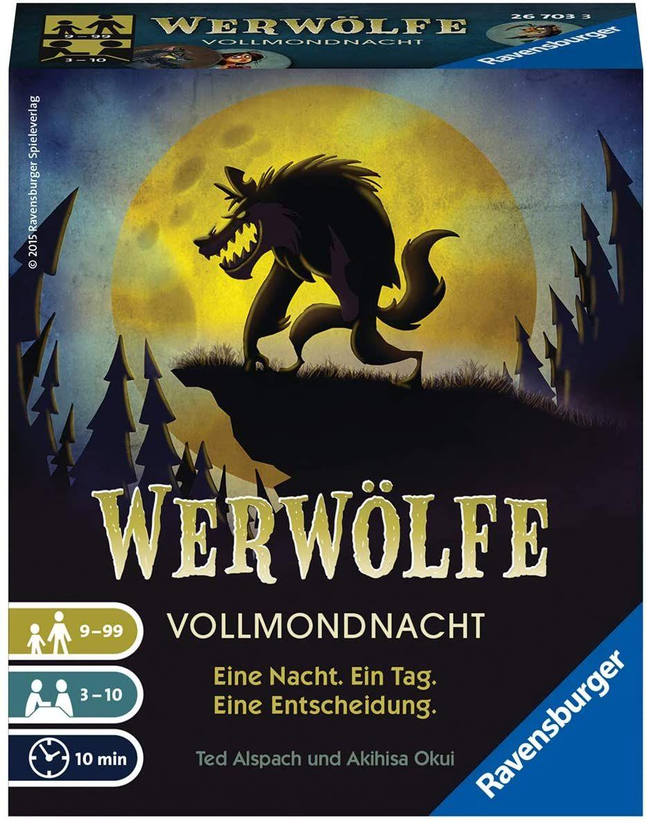 [Prime] Ravensburger Kartenspiele 26703 - Werwölfe - Vollmondnacht (BGG 7,1)