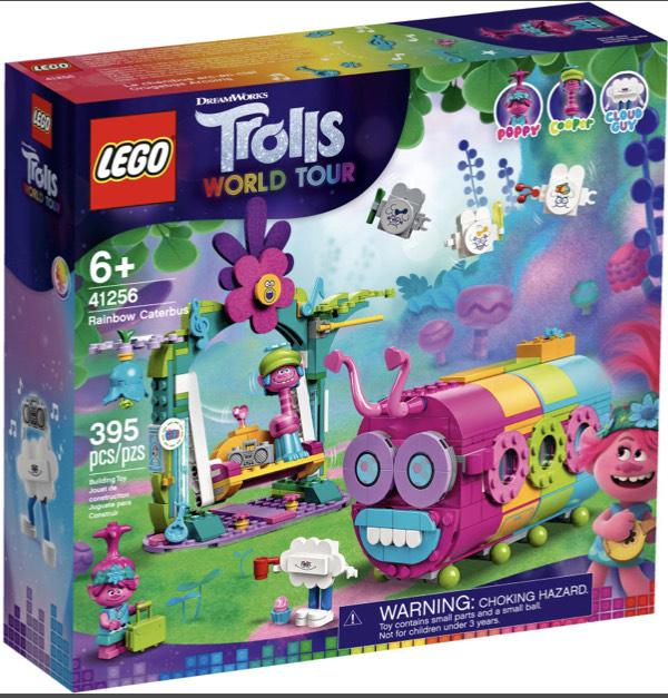 Müller Filialabholung LEGO TROLLS WORLD TOUR - 41256 Regenbogen-Raupenbus