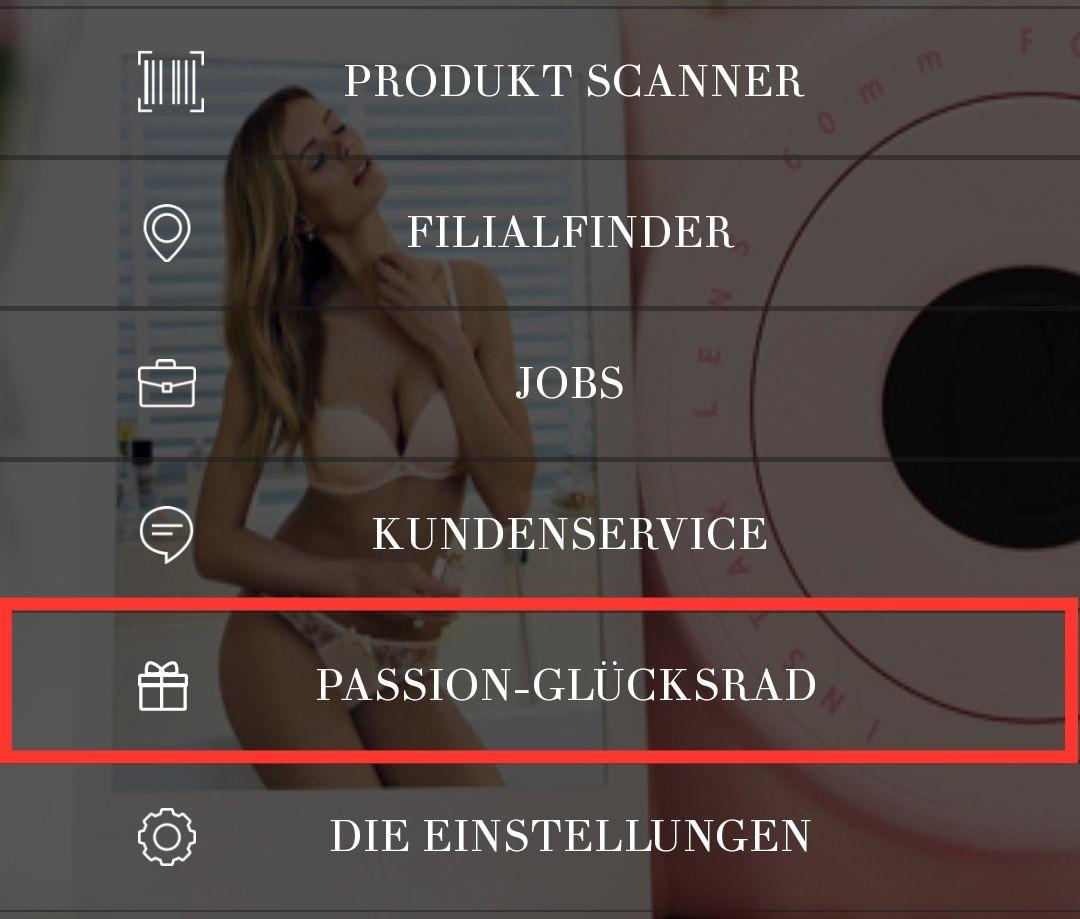 Hunkemöller Passion Glücksrad wieder da! mind. 13 Passion Points garantiert!