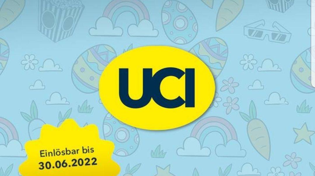 UCI Kinogutschein | Gültig bis 30.06.2022 | z.B. 2 für 14,5 Euro | inkl. Film- & Platzzuschlag | Kino Filme