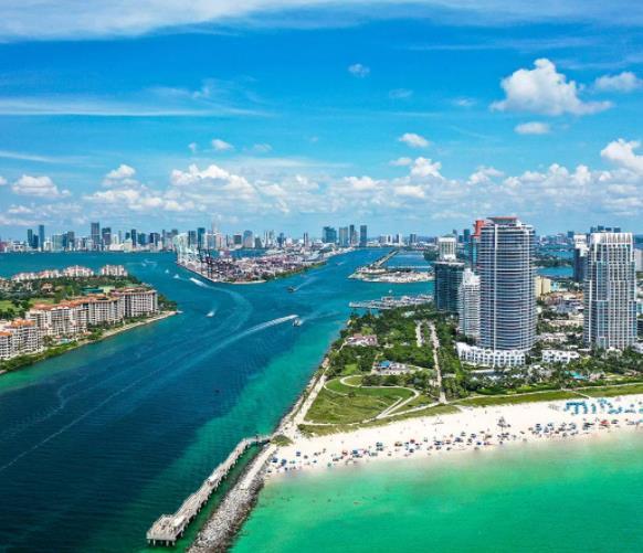 Flüge: Miami / USA (bis Feb 2022) Hin- und Rückflug mit Skyteam / Oneworld von Amsterdam ab 254€