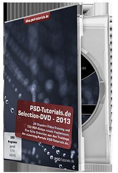 Gratis Selection-DVD als Download mit 24 Stunden Lern-Video-Trainings zu Photoshop & Co.