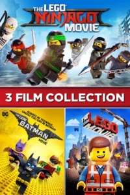 [iTunes] The LEGO Ninjago Movie / The LEGO Batman Movie / The LEGO Movie 3-Film Collection in 4K Bestpreis