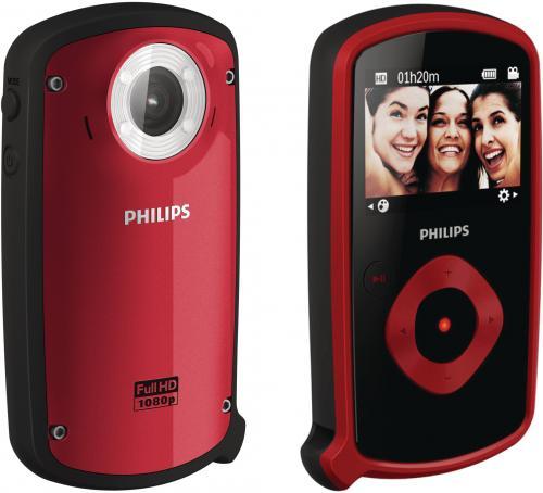 Philips ESee  CAM150 (wasserdichter Mini-Camcorder) für 79,99€ + 4,95€ Versand bei GroupeSales (Idealo 129,99€)