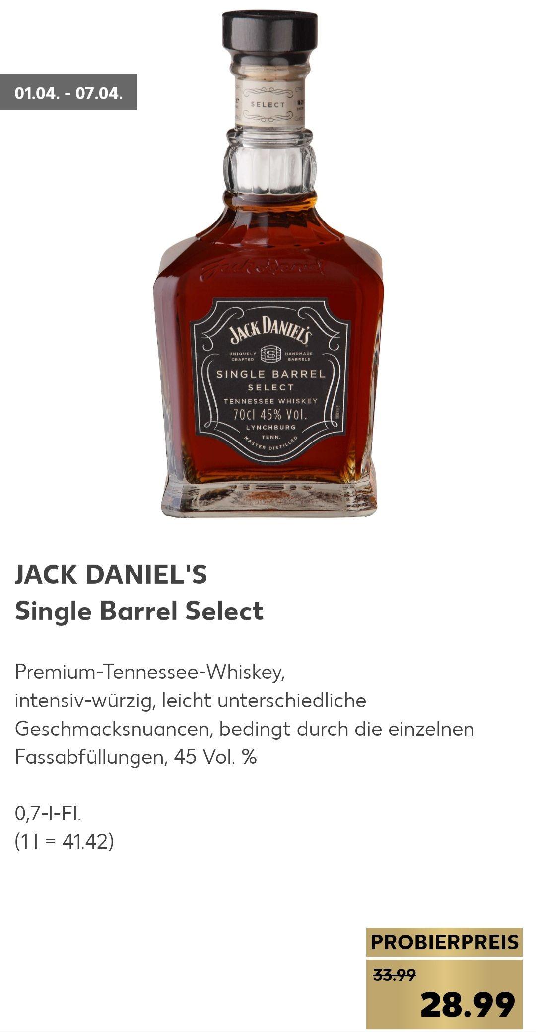 (Kaufland) Jack Daniel's Single Barrel Select